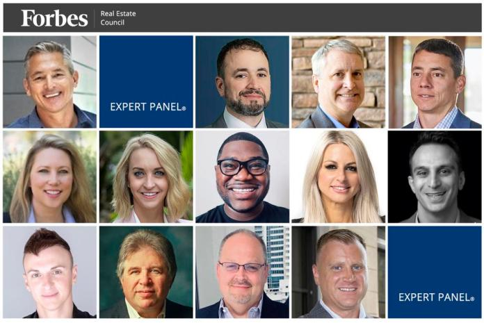 Photos of featured Forbes Real Estate Council members.