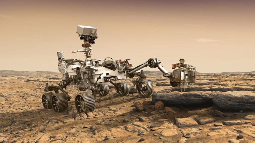 Ausdauer auf dem Mars