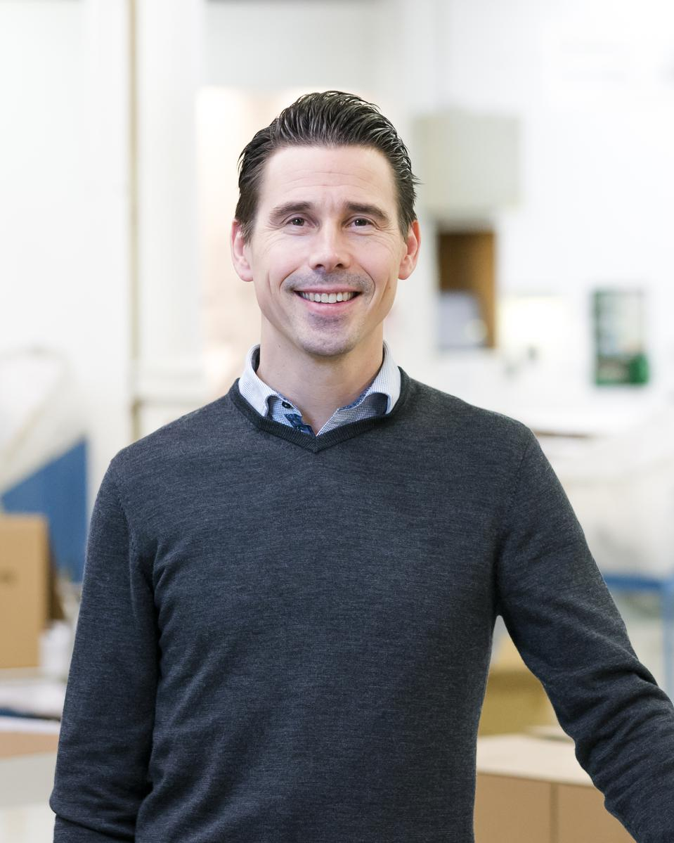 Marcus Grimerö CEO of Ankarsrum