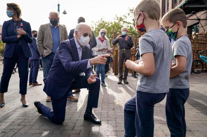 Joe Biden Campaigns For President In Minnesota