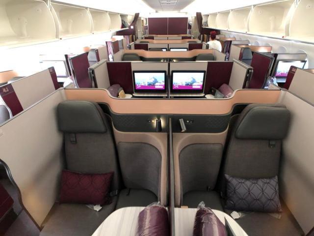 Qatar A350-1000 Qsuites