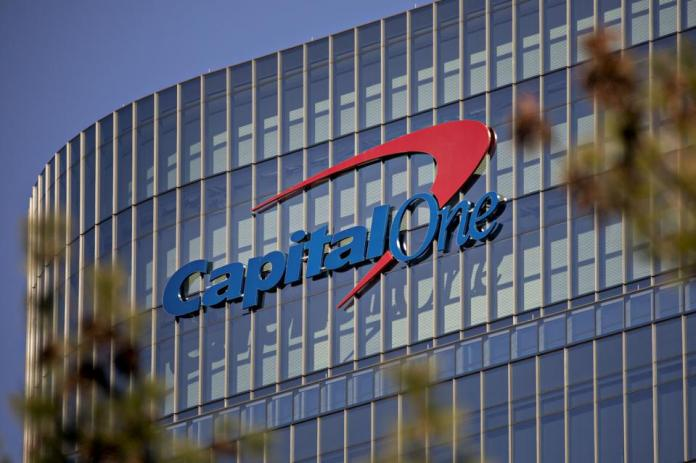 Capital One Headquarters After Net Revenue Stayed About Flat