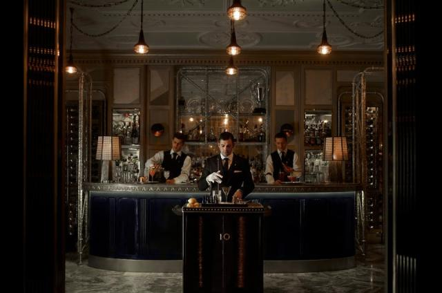 The highly rated Connaught Bar at The Connaught London.