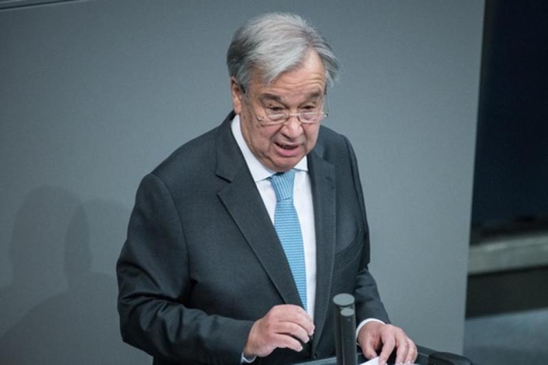 UN Secretary-General Guterres Visits Berlin