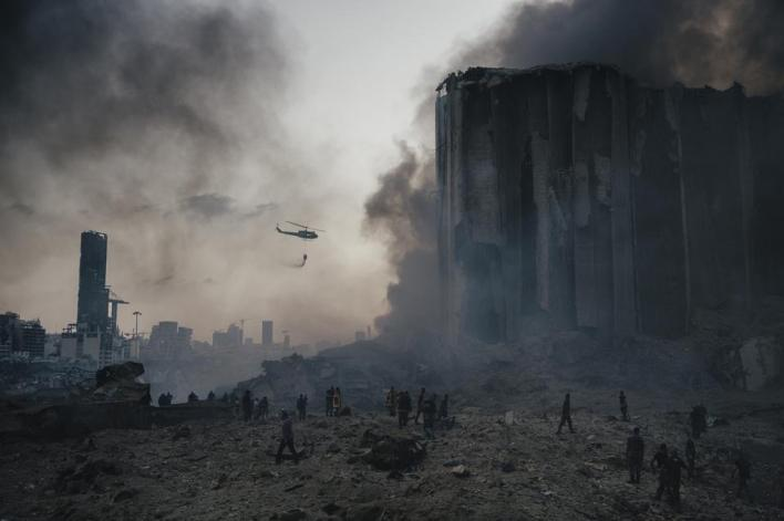 Sony World Photography Awards: explosion in Beirut that destroyed the city