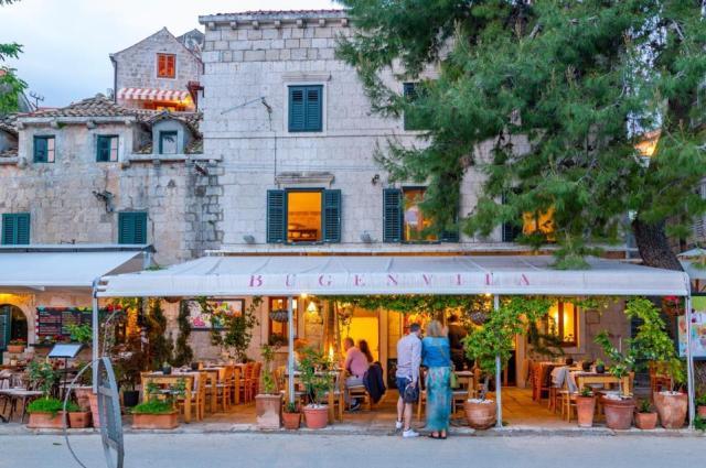 A picturesque street in Cavtat - Konavle Croatia