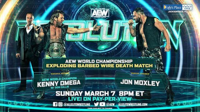 Kenny Omega and Jon Moxley botched their finish to the Exploding Barbed Wire Match.