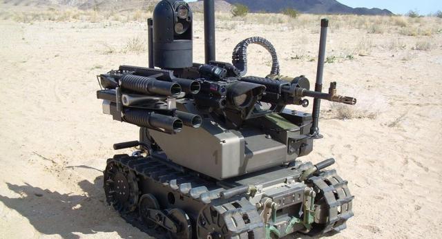 Armed robot