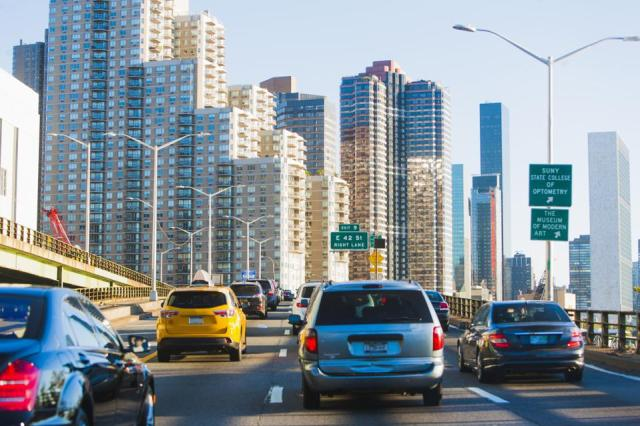 Due to the pandemic, the average downtown commute time dropped by 44 percent last year.