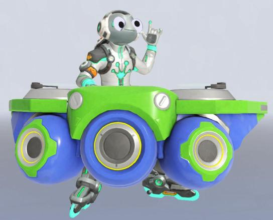 Overwatch hero Lúcio with googly eyes, The latest beta of Overwatch adds an silly April Fools' touch