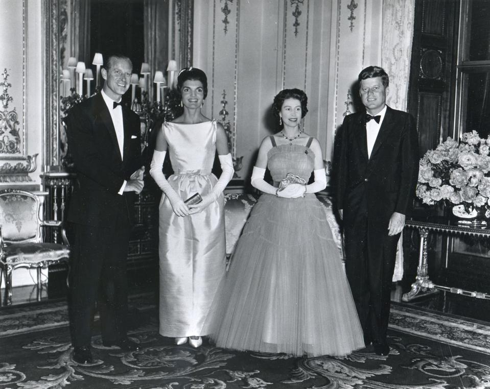 The Kennedys With The Queen and Prince Philip in London 1961
