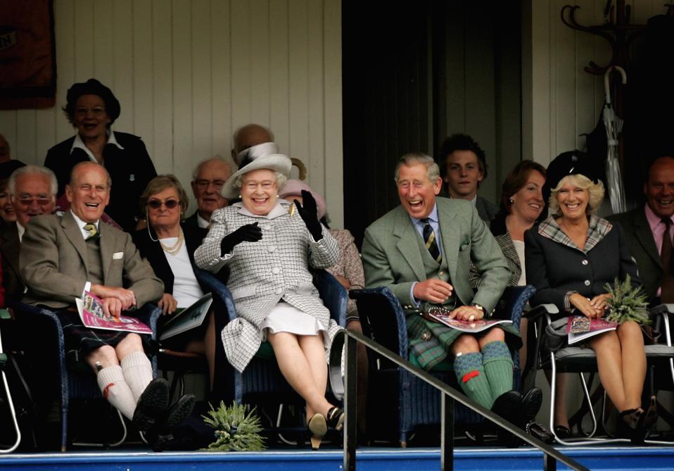 Prince Philip at Braemar Highland Gathering