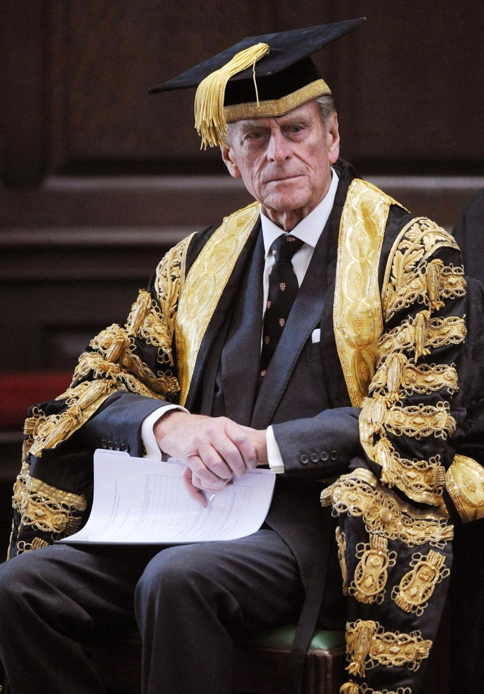 Prince Philip, Duke of Edinburgh as Chancellor of Cambridge University