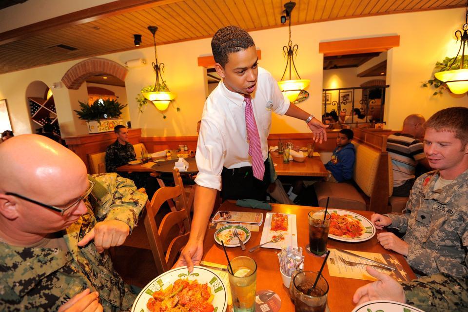 Darden Restaurants Veterans Day Deals