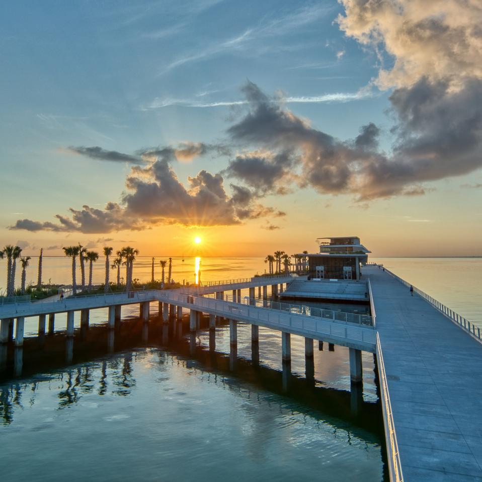 St Pete Pier at sunrise
