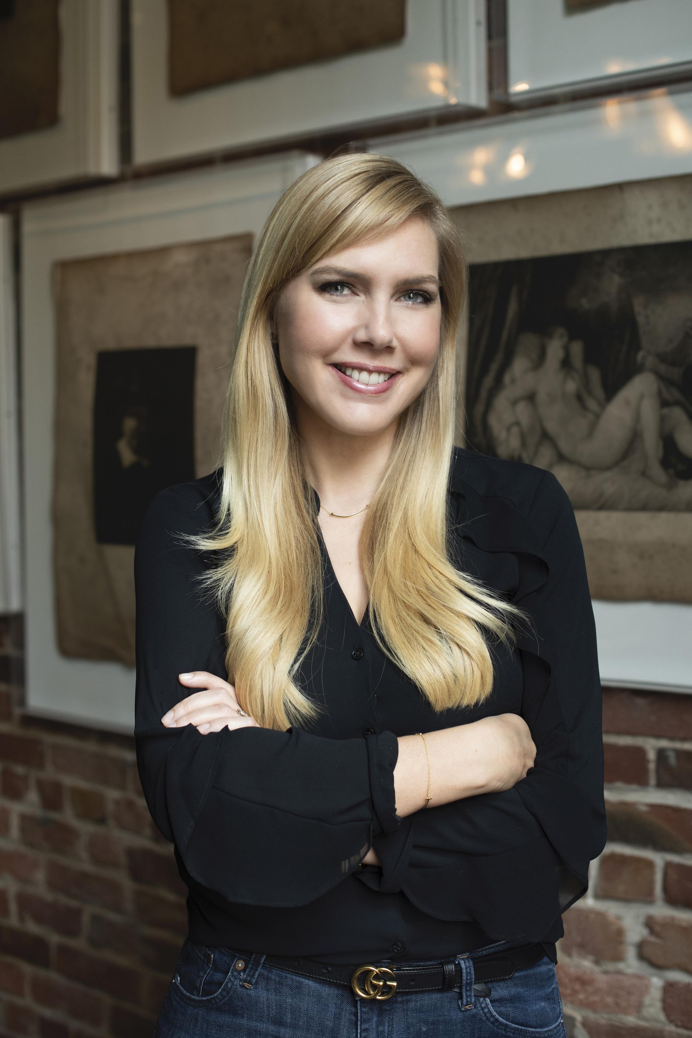 Katelin Holloway dice que trabajar con obras de Ohanian