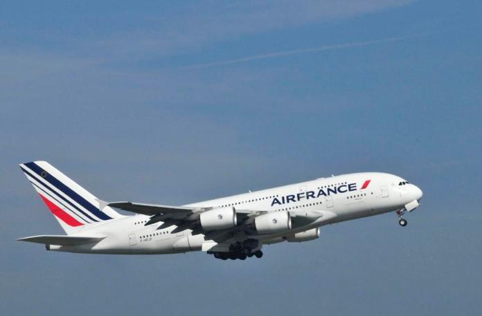 Avion A380 d'Air France