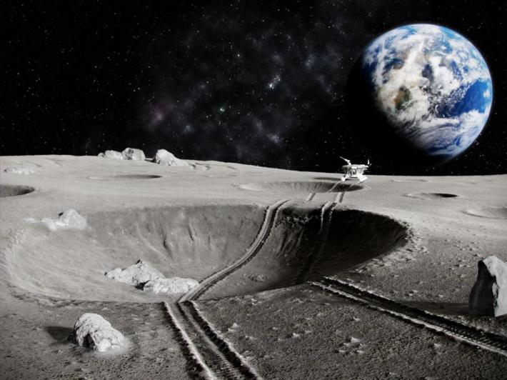 Trump Wants To Mine The Moon. This Is How NASA Will Do That Using  'Roomba'-Sized Rovers