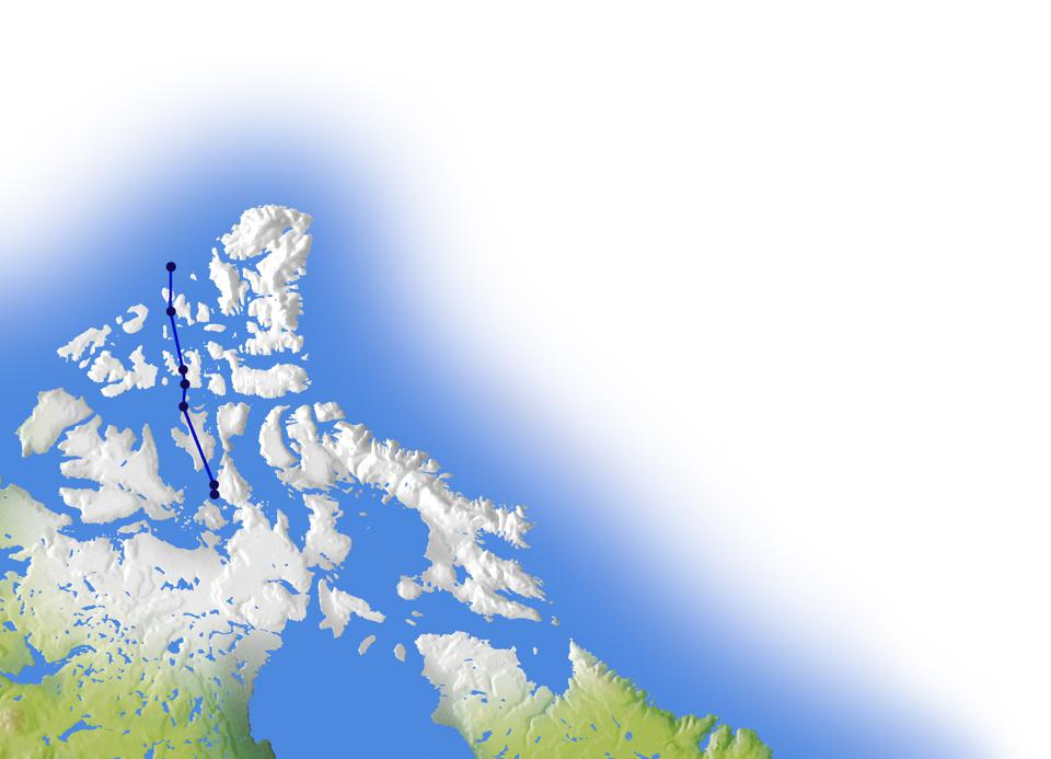 Shifting of the magnetic North Pole