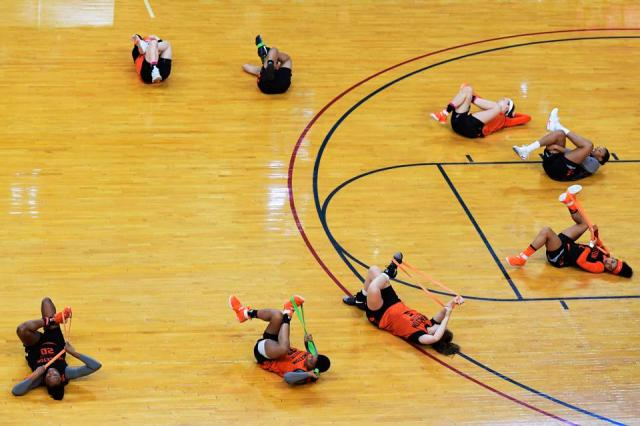 Ivy League Basketball Tournament - Practice Sessions