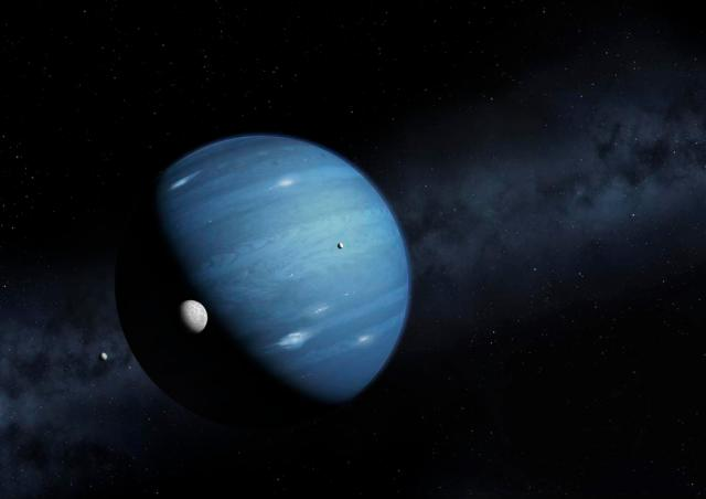 Hypothesised ninth planet, illustration