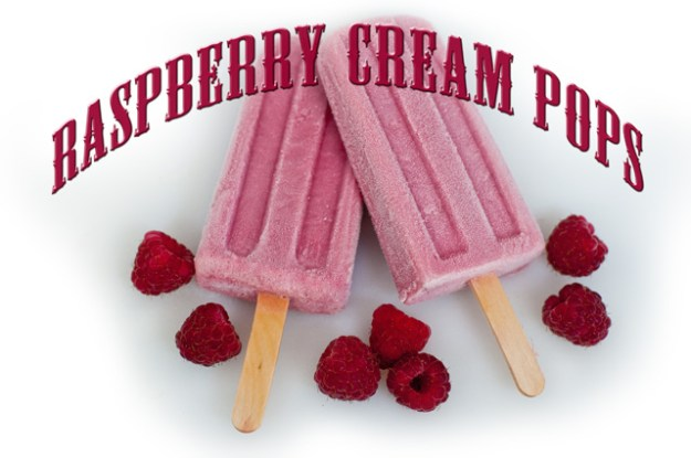 At all our Farmers' Markets you can get a Raspberry Cream Pop