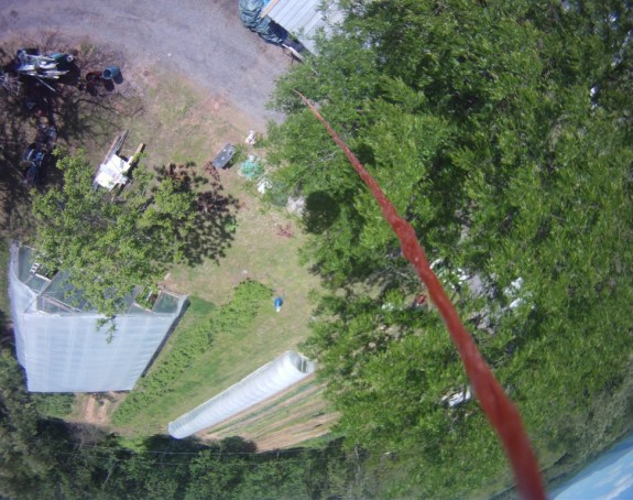 Aerial View From BalloonCAM