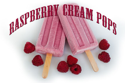 Raspberry Cream Pop