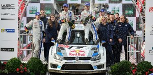 Ogier - Rally GB 2013 (vw-motorsport)