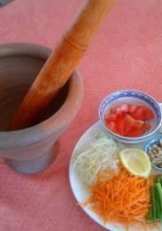 Mortier – Salade de Papaye verte (Som Tam)