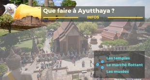 Que faire à Ayutthaya
