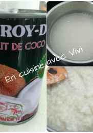 recette du riz gluant au lait de coco et mangue