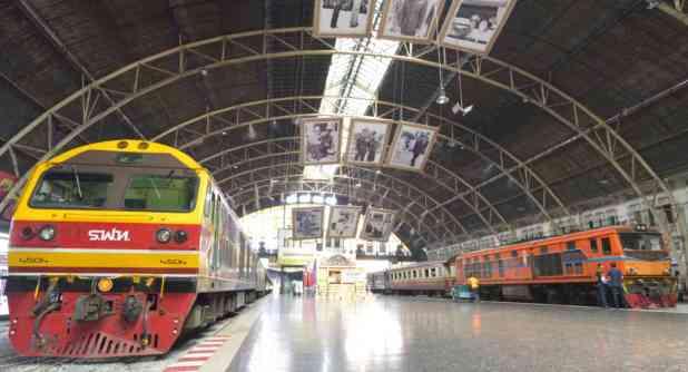 Trajet Bangkok Phuket train