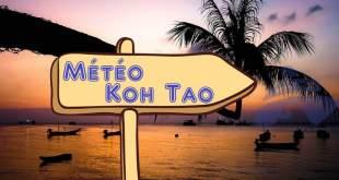 Quel météo à Koh Tao Thaïlande ?