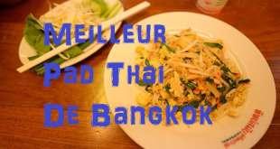 Pad Thai en Thaïlande - Restaurant