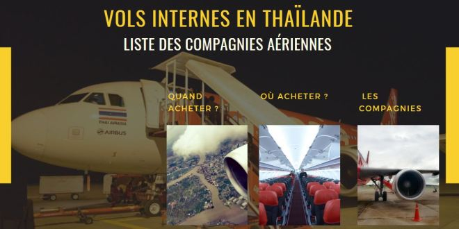 Vols internes en Thaïlande