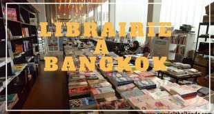 librairie à Bangkok
