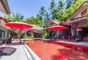 Red Coconut à Koh Phangan - Bungalows (accès direct à la piscine)