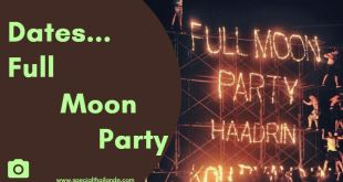 Date Full Moon Party à Ko Phangan