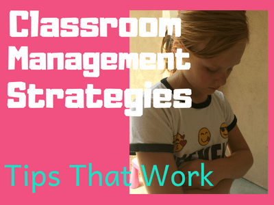 Back to School Classroom Management