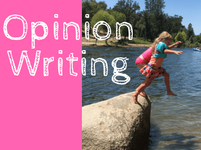 Elementary Opinion Writing