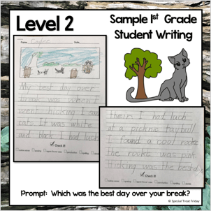 Student Sample Opinion Writing