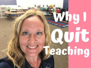 Why I Quit Teaching