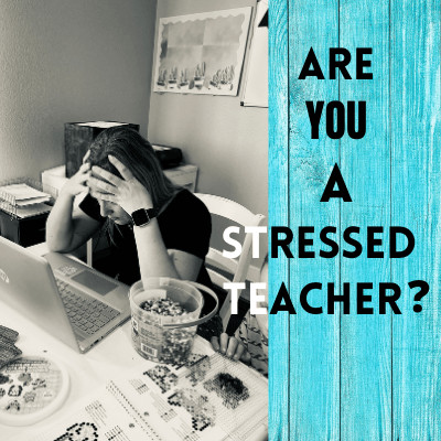Stressed Out Teacher