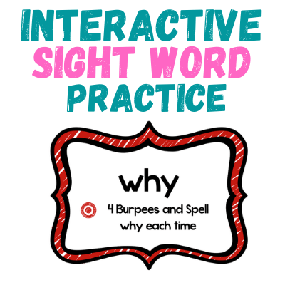 Interactive Sight Word