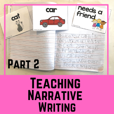 Teaching Narrative Writing with Story Starter Cards
