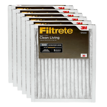 Best HVAC Furnace Filter for Dust and Dust Mites - Filrete Clean Living Basic Dust & Dust Mites