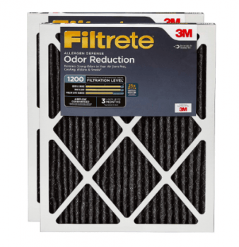 Best HVAC Furnace Filter for Pets & Pet Dander - Filtrete Allergen Defense Odor Reduction
