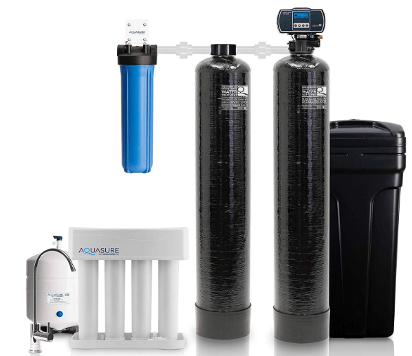 Aquasure Signature Series Complete Whole House Water Treatment System water softener, Water Conditioner