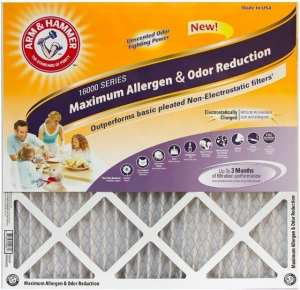 Arm & Hammer Max Allergen & Odor Reduction 20x25x1 Air and Furnace Filter